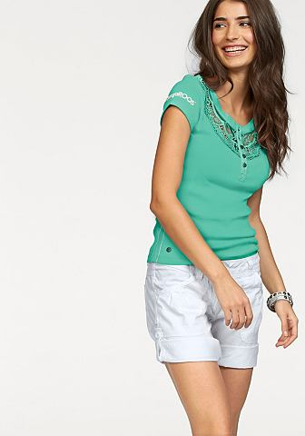KANGAROOS T-shirt met kant