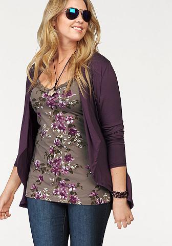 BOYSEN'S Shirtjasje in lang model
