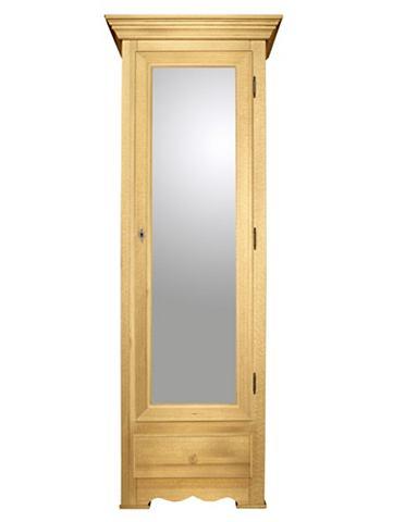 Schoenenkast, met spiegeldeur