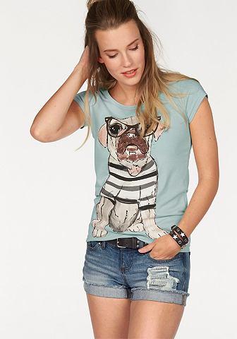 CHILLYTIME T-shirt in nauw aansluitend model