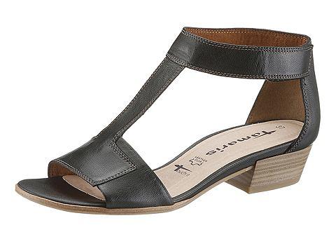 Schoen: TAMARIS Sandaaltjes met klittenbandsluiting