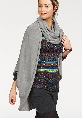 AJC Vest met ronde sjaal
