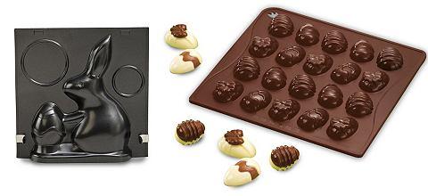 DR. OETKER Bakvorm en silicone chocoladevorm