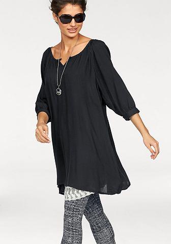 BOYSEN'S Lange blouse met ronde hals