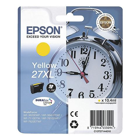 Epson 27XL Cartridge Geel