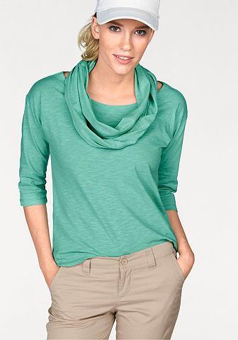 FLASHLIGHTS Shirt met sjaal