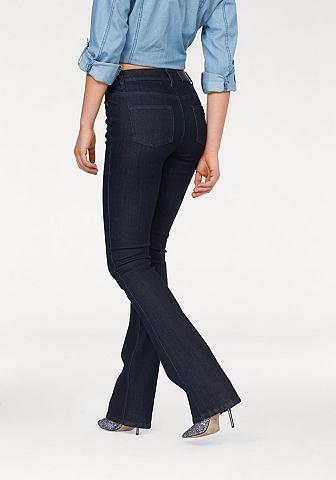 ARIZONA Bootcut-jeans in five-pocketsstijl