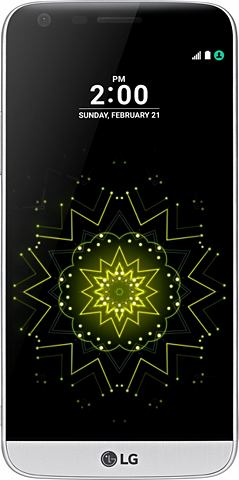 LG G5 smartphone, 13,5 cm (5,3 inch) display, LTE (4G), Android 6.0 (Marshmallow), 16,0 megapixel