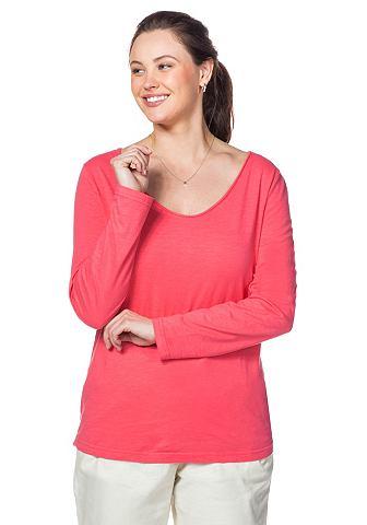 NU 20% KORTING: SHEEGO CASUAL Shirt met lange mouwen en V-hals