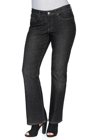 sheego Denim bootcut stretchjeans