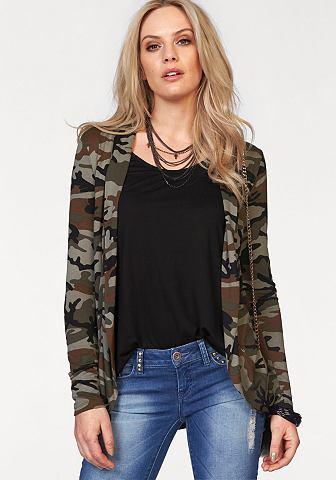 MELROSE Shirt-jasje in camouflage-look