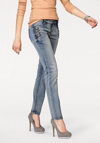 MELROSE Skinny-jeans in iets gewassen look