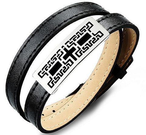 FIRETTI armband in wikkel-look