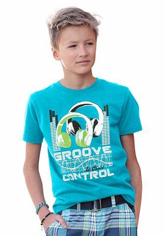 CFL T-shirt met ronde hals en print