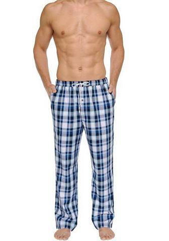 NU 15% KORTING: SCHIESSER, lange geweven broek met grote ruiten