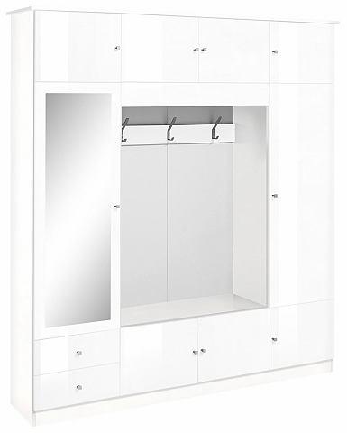 Garderobemeubel Kompakta van 185 cm breed