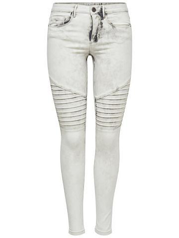 Only Royal reg biker Skinny jeans