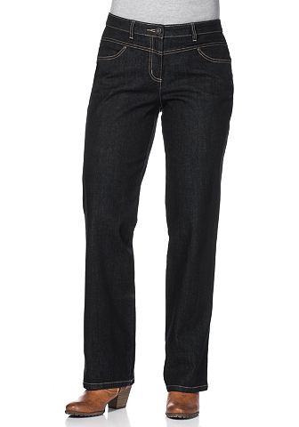 SHEEGO Jeans van katoen en Elastan