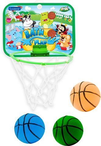 LEXIBOOK basketbalring met ballen, »Basketbal badspel«