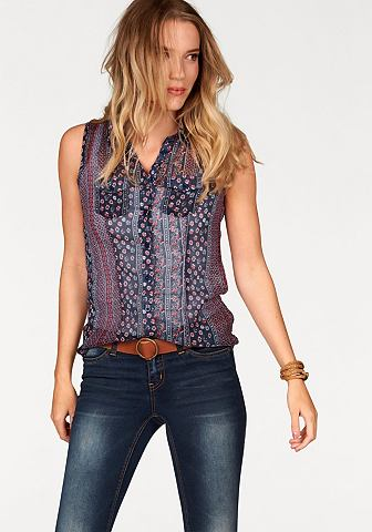 AJC Chiffon-blouse met bloemetjesprint