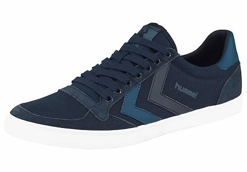 NU 15% KORTING: Hummel sneakers »Slimmer Stadil Canvas Low«