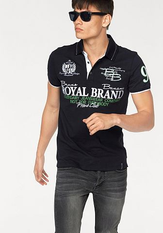 BRUNO BANANI Poloshirt in piquékwaliteit