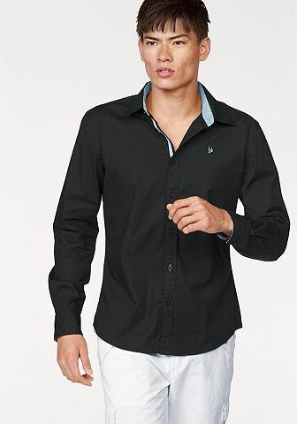 BRUNO BANANI Overhemd met kentkraag