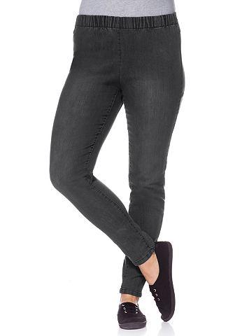 SHEEGO DENIM Jeans-legging met elastische band