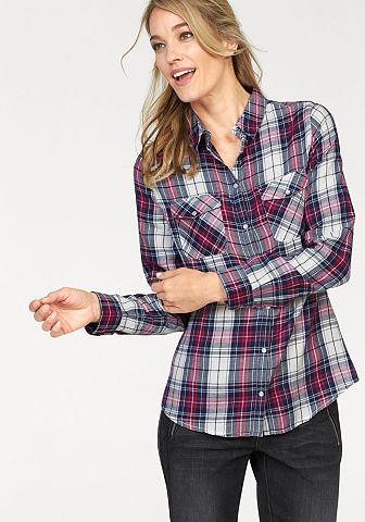 CHEER flanellen blouse