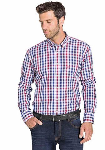 NU 15% KORTING: BUGATTI geruit overhemd