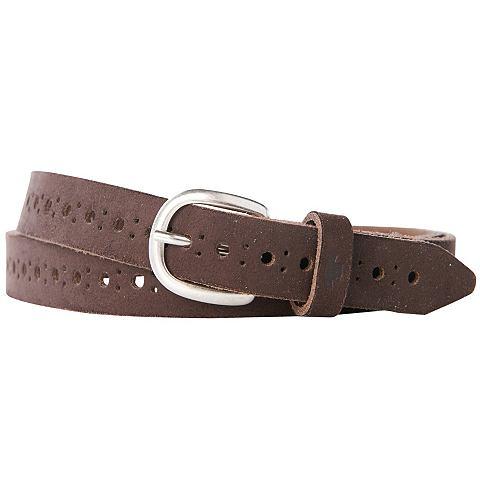 Nu 15% Korting: Tom Tailor Riem »suede Leather Belt«