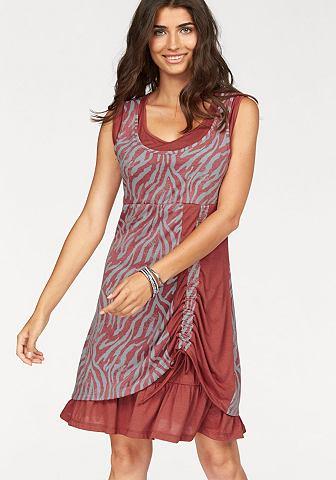 BOYSEN'S Jersey-jurk in dubbellaagse verwerking