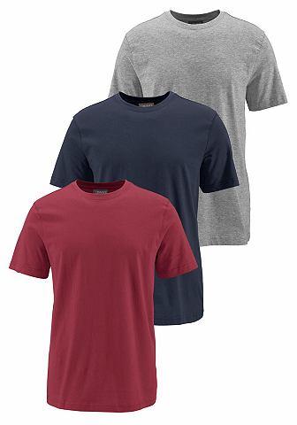T-shirt, set van 3, GREY CONNECTON