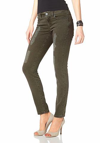 LAURA SCOTT Five-pocketsjeans in used-look