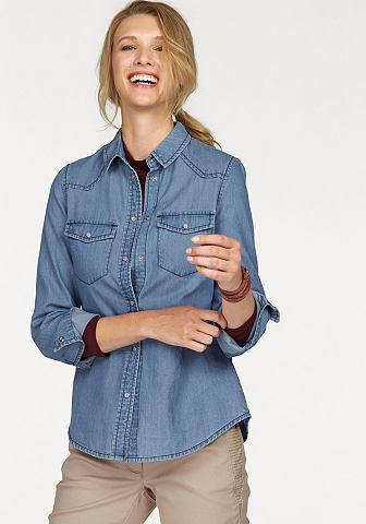 NU 15% KORTING: CHEER jeansblouse