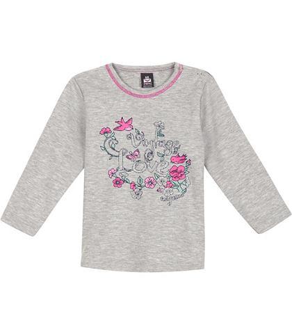 TRIGEMA Shirt met bloemenprint