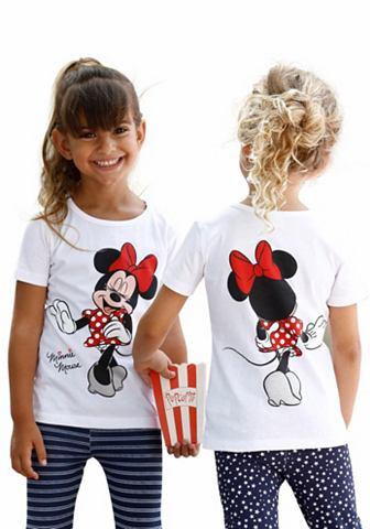DISNEY T-shirt Minnie Mouse met Minnie-rugprint