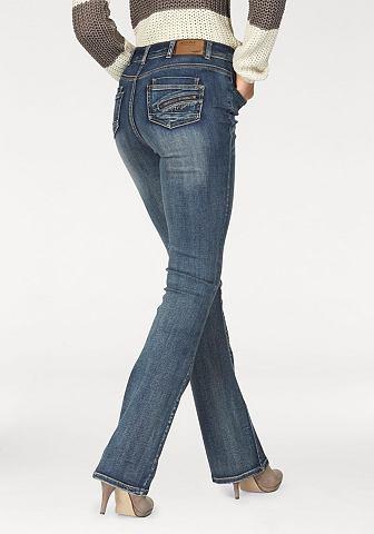 ARIZONA bootcutjeans »high waist«