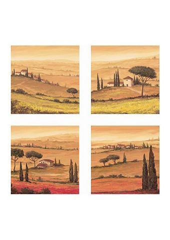 Artprint, 4-delige set