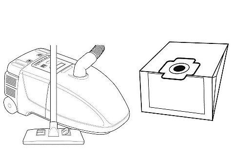 Set: stofzuigerzakken en microfilters (24dlg.)