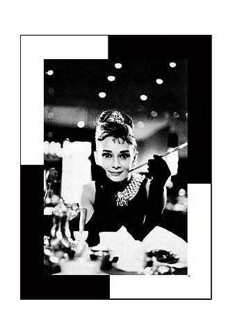 Artprint 'Audrey Hepburn, Breakfast at Tiffany's'