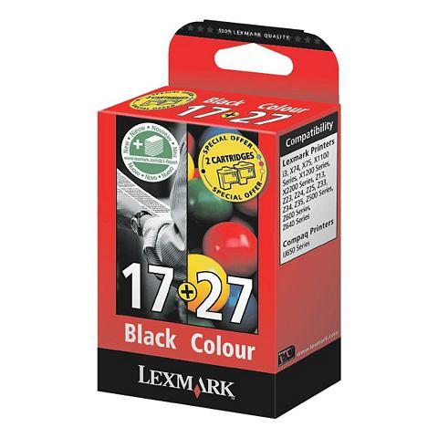 Lexmark Inktpatronenset »10NX217 & 10NX227« Nr. 17 ...