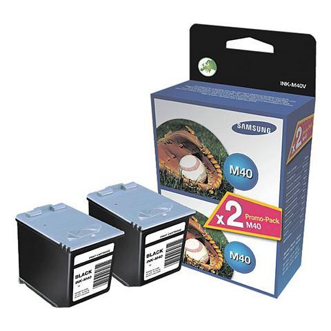 Samsung 2x Inktpatroon »Ink-M40«
