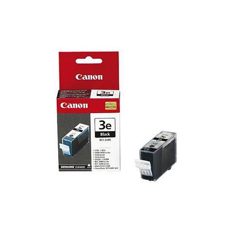 Canon Dubbelpak inktpatronen »BCI-3E BK«