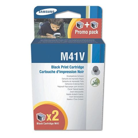 Samsung Dubbelpak inktpatronen »Ink-M41«