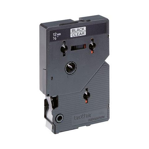 Black on bright tape 12mm for PT-8E/PT-2000/PT-3000/PT-5000