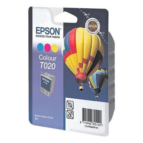 Epson T020 - Inktcartridge / Kleur