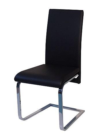 Stoel/vrijdragende stoel, Schosswender, set van 2
