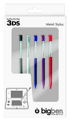 5 uitschuifbare metalen stylus, Big Ben