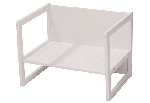 ROBA Bank-tafel-combinatie in wit